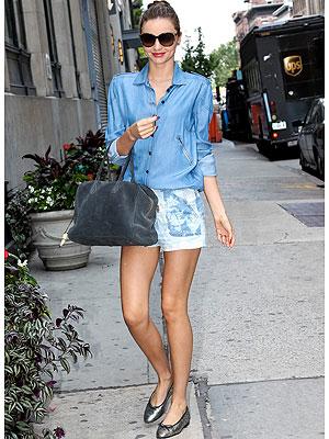 Miranda Kerr shorts