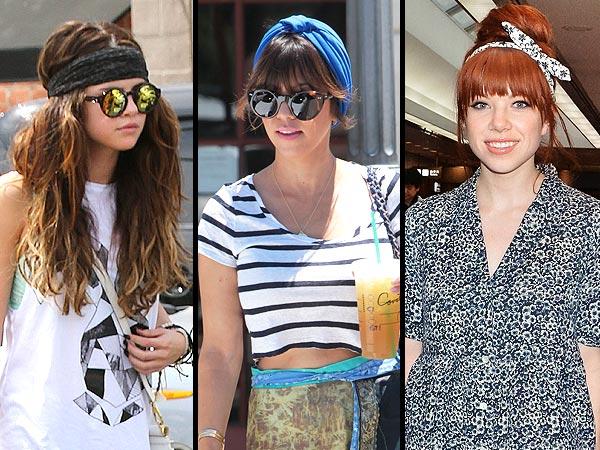 Celebrity headbands