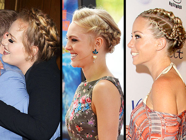 Celebrity braid hairstyles