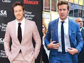 As If We Needed Another Reason to Love Armie Hammer, He Loves a Funky Suit