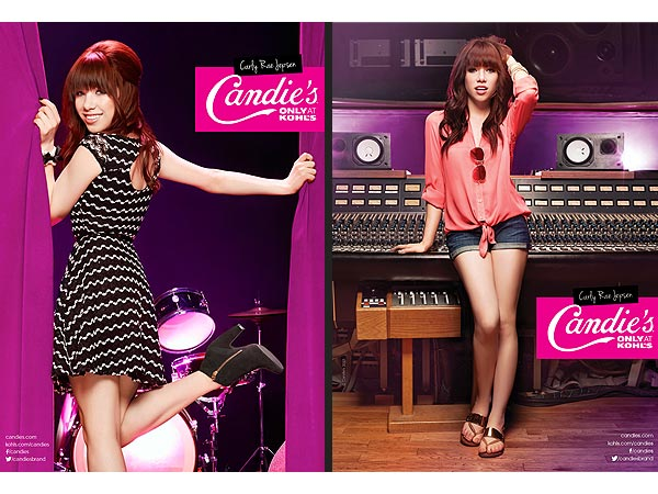 Carly Rae Jepsen Candie's Ad