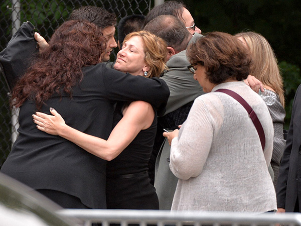 James Gandolfini's Funeral: Sopranos Costars Say Goodbye| Death, The Sopranos, David Chase, Edie Falco, James Gandolfini, Lorraine Bracco