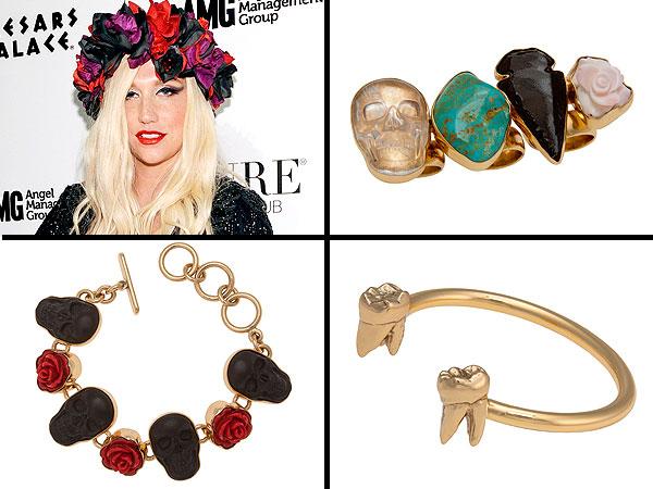 Kesha jewelry line