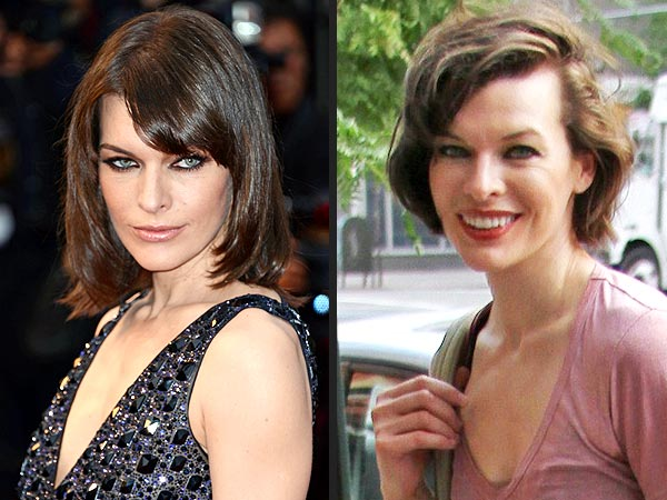 Milla Jovovich Haircut