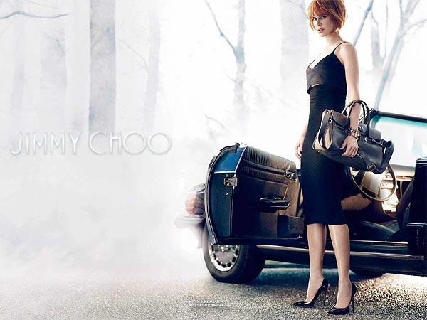Nicole Kidman Jimmy Choo Ad