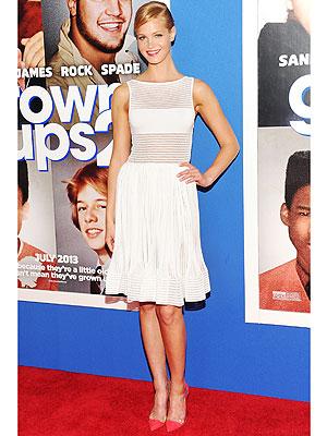 Erin Heatherton sheer dress