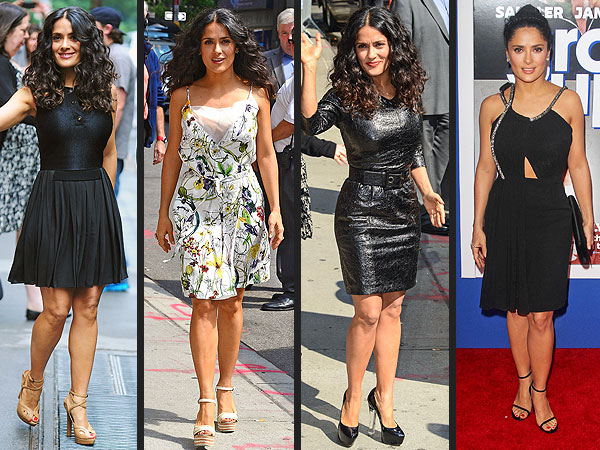 Salma Hayek Grown Ups 2 premiere