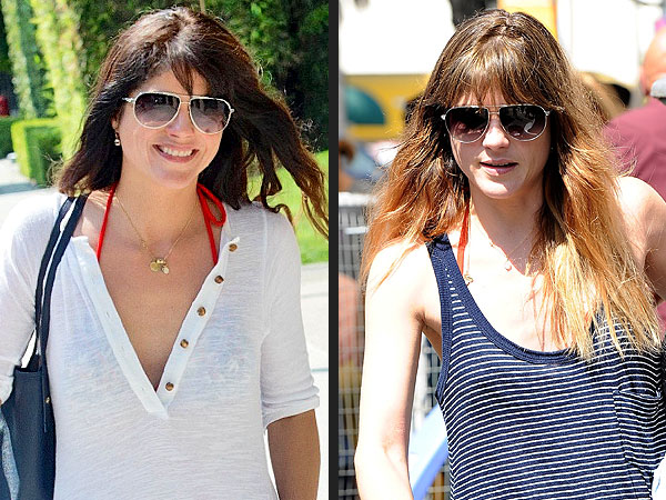 Selma Blair hair color