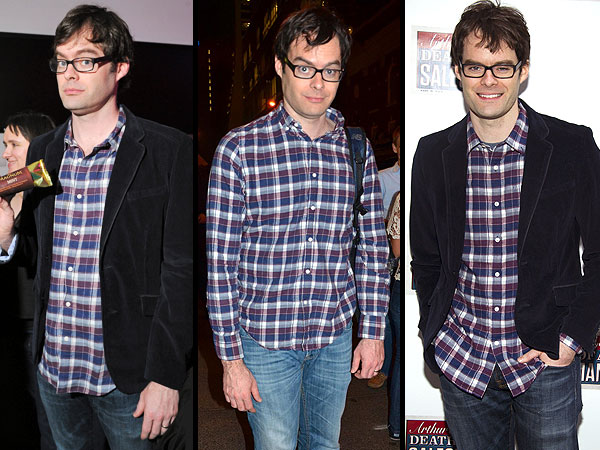 Bill Hader new clothes