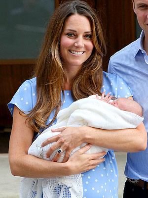 Kate Middleton, Prince George Blanket