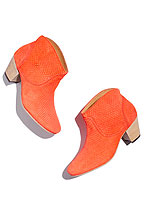 Madewell orange booties