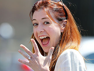 Alyson Hannigan's Anniversary Gift? An Engagement Ring – and Vow Renewal!