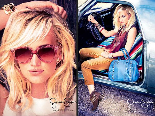 Ashlee Simpson Jessica Simpson ads