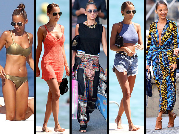 Nicole Richie vacation