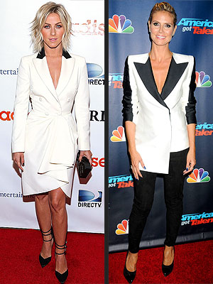 Heidi Klum, Julianne Hough style