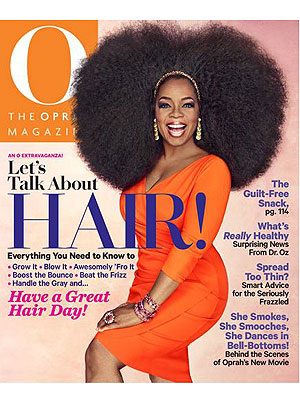 Oprah natural Hair
