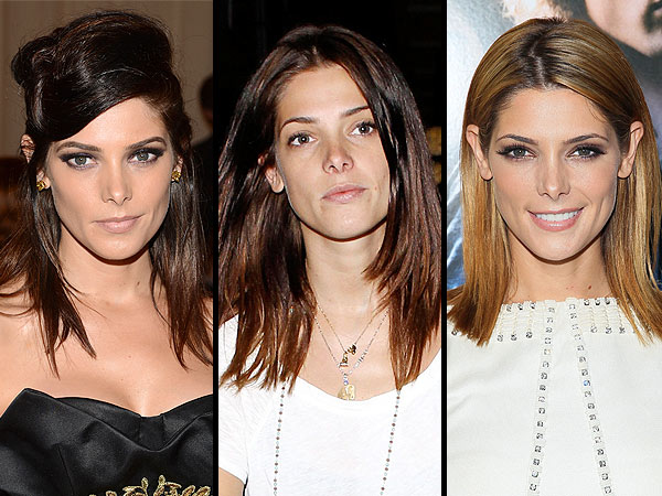 ashley greene 600x450 See Ashley Greene's Hair Transformation From Dark to Light
