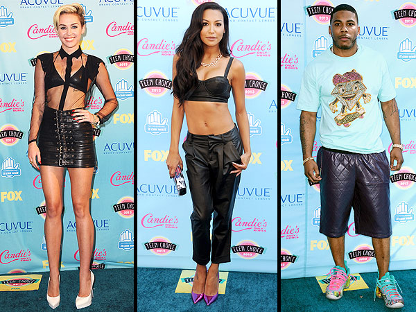 Miley Cyrus Teen Choice Awards Style