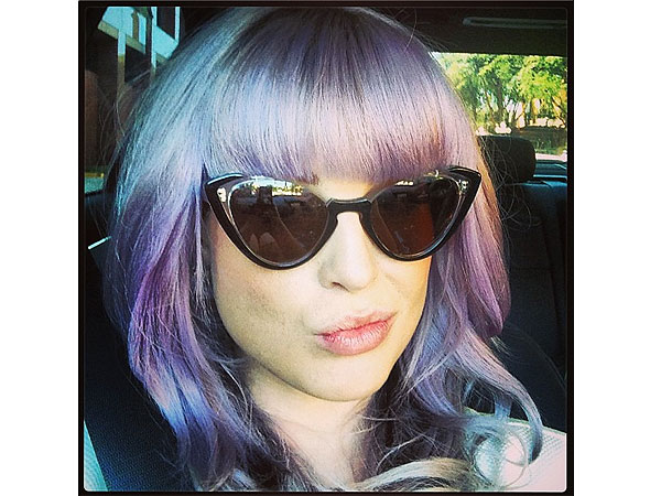 Kelly Osbourne bangs photo