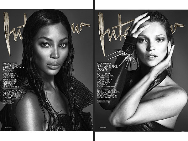 Interview mag naked supermodels