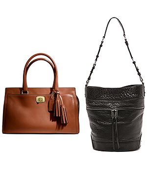 Coach bag, Rebecca Minkoff bag