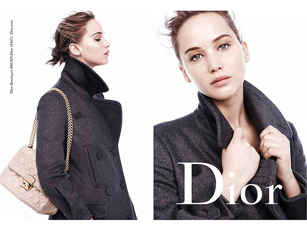 jennifer lawrence 600x450 Jennifer Lawrence's Latest Dior Ads: Are You Loving 'Em?