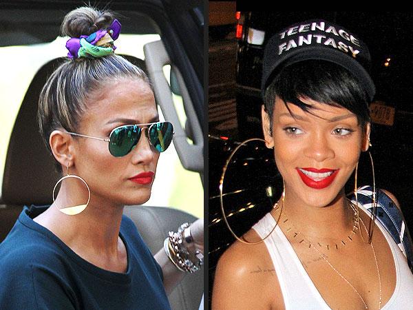 JLo Rihanna accessories