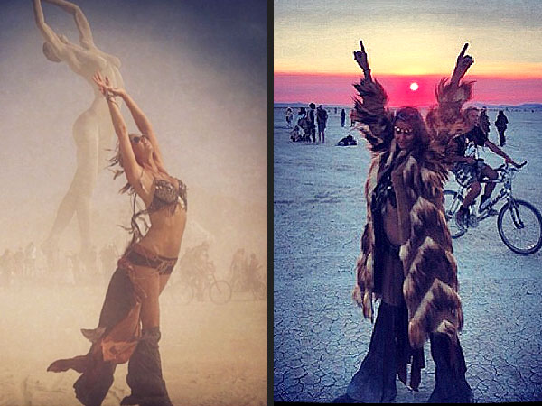 Stacy Keibler Burning Man