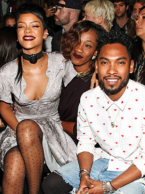Rihanna and Miguel
