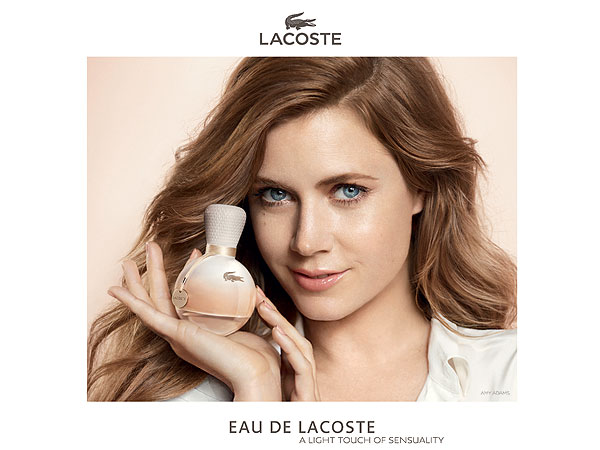 Amy Adams Lacoste fragrance