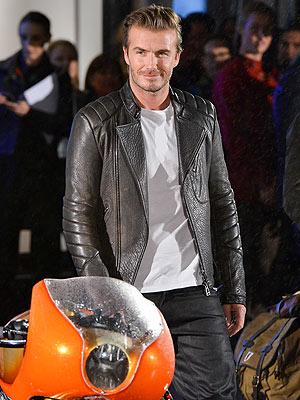 David Beckham Belstaff