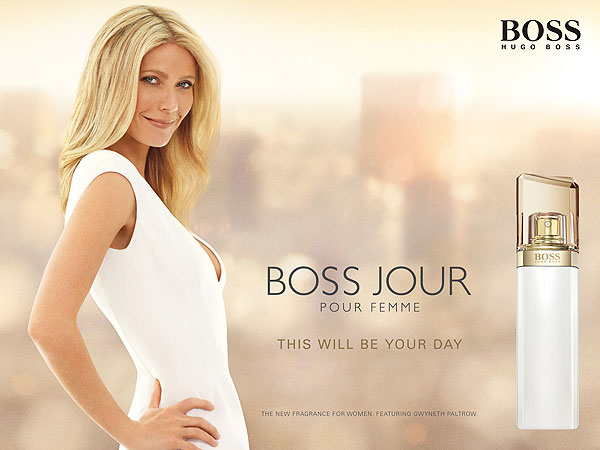 Gwyneth Paltrow Hugo Boss fragrance