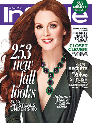 julianne moore 300x400 Julianne Moore Goes High Style For InStyle