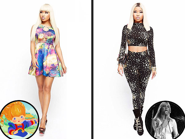 Nicki Minaj Kmart clothes