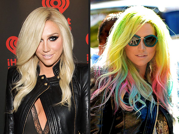 Kesha Rainbow Hair