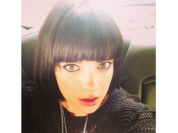Lily Allen Hair Change