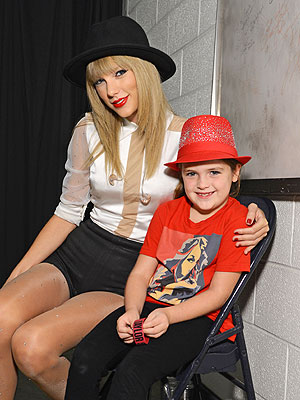 Taylor Swift Meets Young Girl Struck by Motorist Outside Her Concert