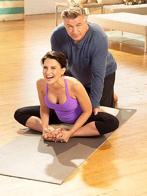 Hilaria Baldwin Pregnancy Yoga DVD Alec Baldwin