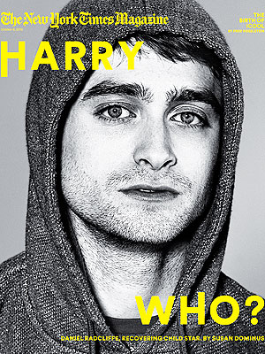 Daniel Radcliffe T Magazine