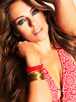 Elizabeth Hurley Estee Lauder Breast Cancer Awareness