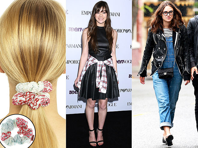 keira knightley 600x450 The $95 Scrunchie & More Expensive Ways to Bring Back the 90s