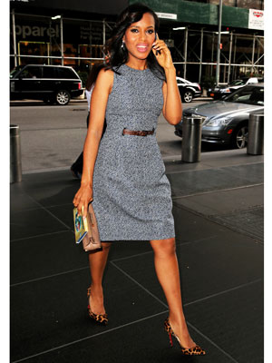 Kerry Washington sheath