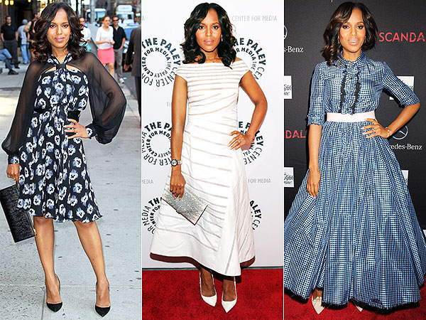 Kerry Washington dresses