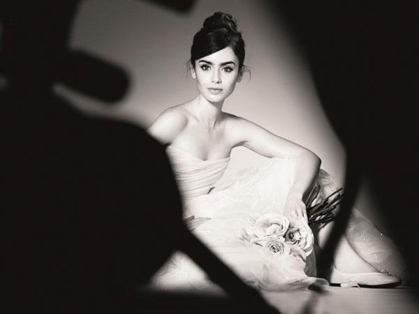 Lily Collins Lancome
