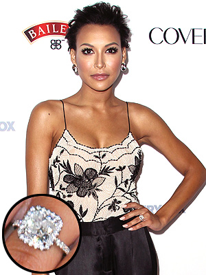 Naya Rivera engagement ring