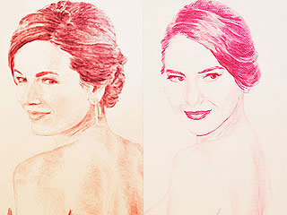 Must See: Portraits of Olivia Munn, Anna Kendrick and More Made Out of Kisses