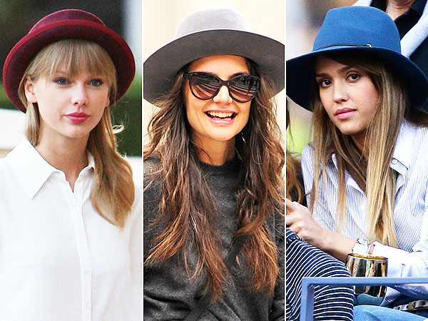 taylor swift 600x450 Falls Funky Hat Trend: Will You Be Participating?