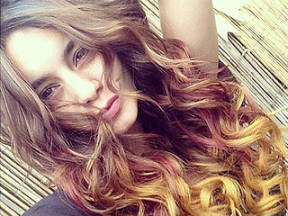 Ombré Hair? So Over. This Star Got Tri-Tone Hair Inspired By Fall