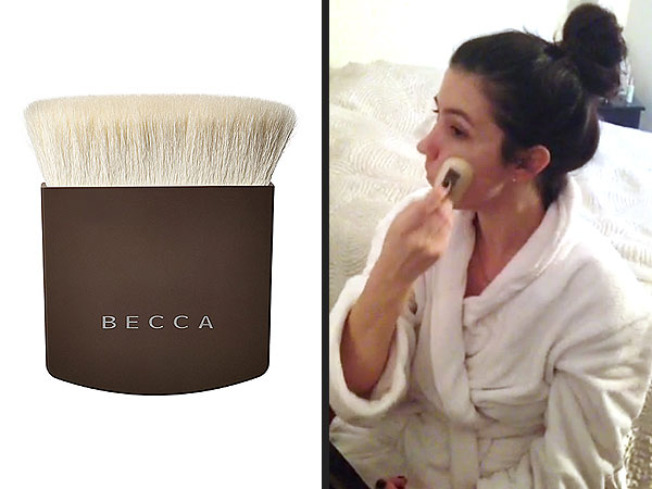 Becca makeup brush