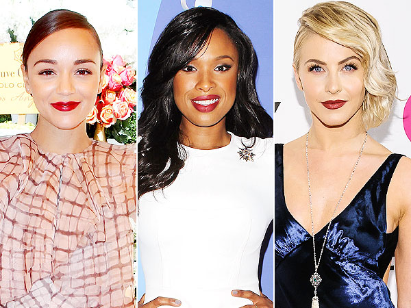 Ashley Madekwe, Jennifer Hudson, Julianne Hough lipstick